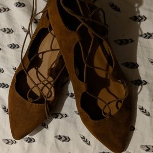 Old Navy Lace-up Flats